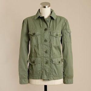J.Crew olive boyfriend military jacket Style 12542